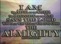 I Am The Alpha & The Omega (Α + Ω )