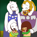 Underline AU - The Dreemurr Family bức ảnh