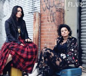Ilana Glazer and Abbi Jacobson ~ Flare ~ February 2016