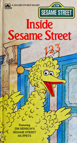 Big Bird wallpaper titled Inside Sesame Street (1986)