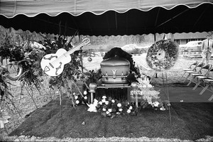 J. P. Richardson's Funeral In 1959