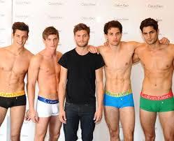 Jamie Dornan & Calvin Klein Male mga model