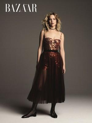 Jennifer Lawrence - Harper's Bazaar Taiwan Photoshoot - 2018