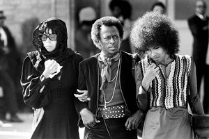 Jimi Hendrix's Funeral In 1970