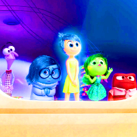 Joy, Sadness, Disgust, Fear and Anger - Inside Out Icon
