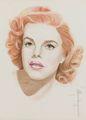 Judy Garland  - celebrities-who-died-young fan art