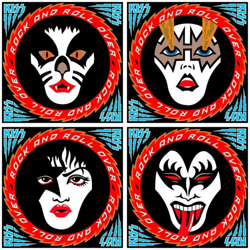KISS پیپر وال entitled KISS ~Rock and Roll Over