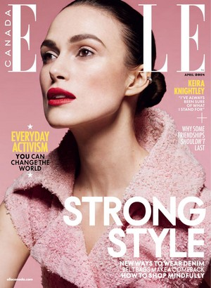 Keira Knightley for Elle Canada [April 2018]