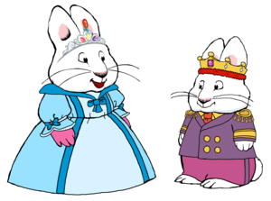 King Max and queen Ruby