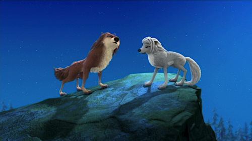 """Lilly from the movie """"Alpha and omega"""" hình nền titled Lilly and Garth"""