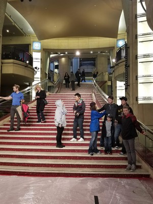 """Los Angeles at the Dolby Theater, Elijah """"Kinlee And a Elijah"""""""