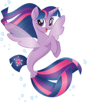 MLP The Movie Seapony Twilight Sparkle official artwork