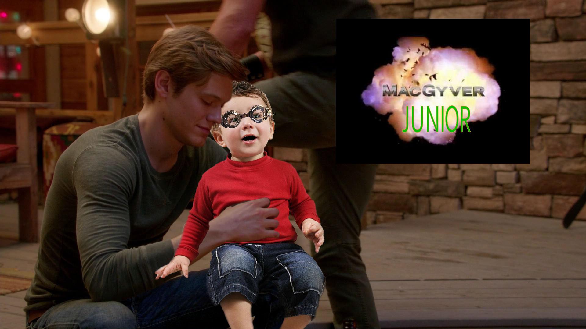 MacGyver Junior - MacGyver as Dad