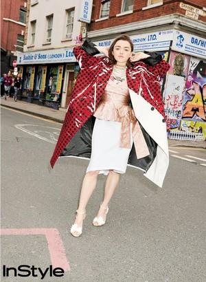 Maisie Williams at InStyle Magazine Photoshoot