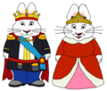 Max and Ruby's parents - King and Queen - max-and-ruby fan art