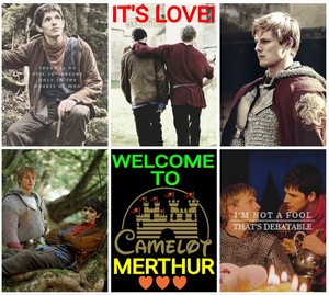 Merthur - It's Love! (Welcome To Camelot)