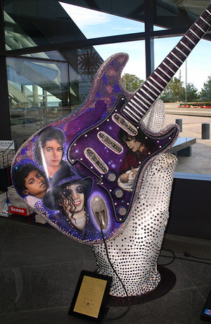 Michael Jackson guitare