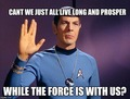 Mr Spock - Star Trek Meets Star Wars - star-trek photo