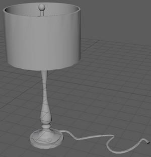 My 3D-model Lamp