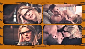 Olicity We Found Ourselves in Each Other Yin Yang किस ऐरो 4x06 2250x1297