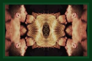 Olicity Yin-Yang Kiss Стрела 4x06 2250x1500