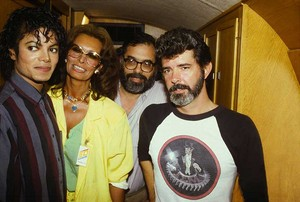 On The Set Of Captain Eo
