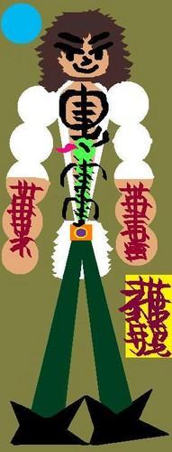 Peter Griffin karatasi la kupamba ukuta entitled Peter Griffin s Chinese tojo