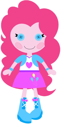 Lalaloopsy wallpaper entitled Pinkie Pie