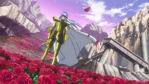 Pisces Albafica (Saint Seiya: The হারিয়ে গেছে Canvas)