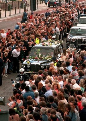 Princess Diana's Funeral Back In 1997