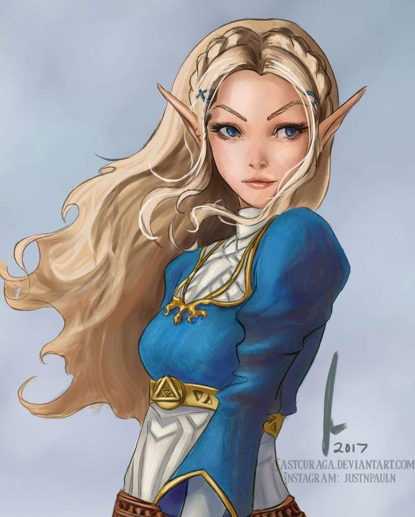 Princess Zelda The Legend Of Zelda Fan Art 41124586