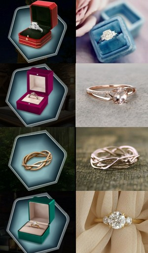 Real life engagement ring inspiration