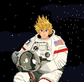 Roxas spaceman