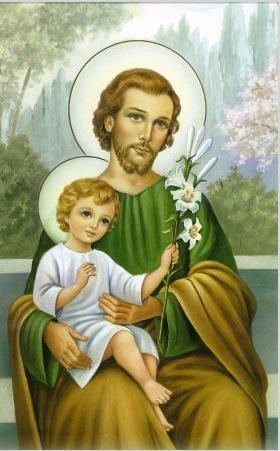 Saint Joseph with Child যীশু
