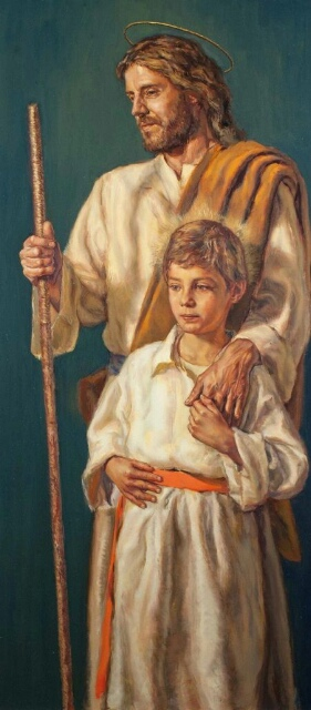 Saint Joseph with jesús