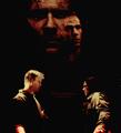 Sam and Lucifer - supernatural fan art
