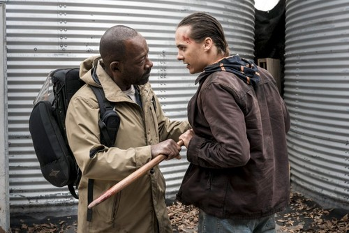 Fear the walking dead images season 4 first look morgan and nick fear the walking dead wallpaper titled season 4 first look morgan and nick voltagebd Choice Image