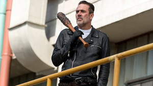 Jeffrey Dean morgan as Negan in 8x10 'The Lost And The Plunderers'