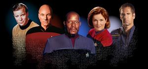 étoile, star Trek 5 Captains