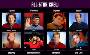 étoile, star Trek All-Star Crew