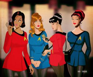 star, sterne Trek Girls