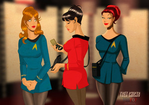 звезда Trek Girls