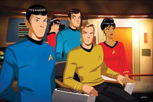 star, sterne Trek TOS Crew
