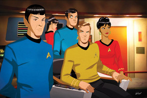 étoile, star Trek TOS Crew