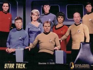 estrela Trek TOS Crew