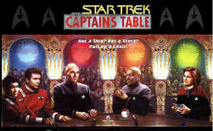 star, sterne Trek The Captain's tabelle