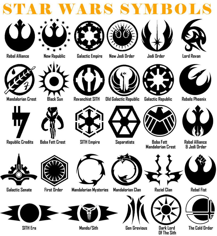 Star Wars Universe - Basic Symbols