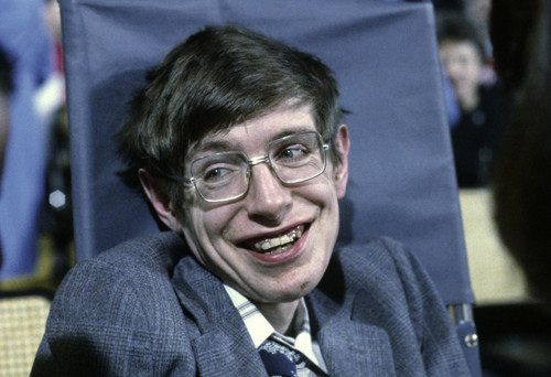 Science 바탕화면 titled Stephen Hawking