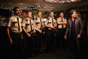 Super Troopers 2 - Ramathorn, Mac, Foster, Rabbit, Farva and Guy Le Franc