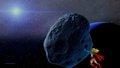 dc-comics - Supergirl Moves An Asteroid wallpaper wallpaper